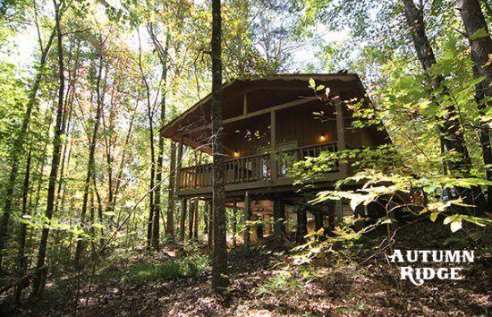 Helen, GA Cabin Rentals | Autumn Ridge Cabin | 1 Bedroom with Hot Tub and Deck