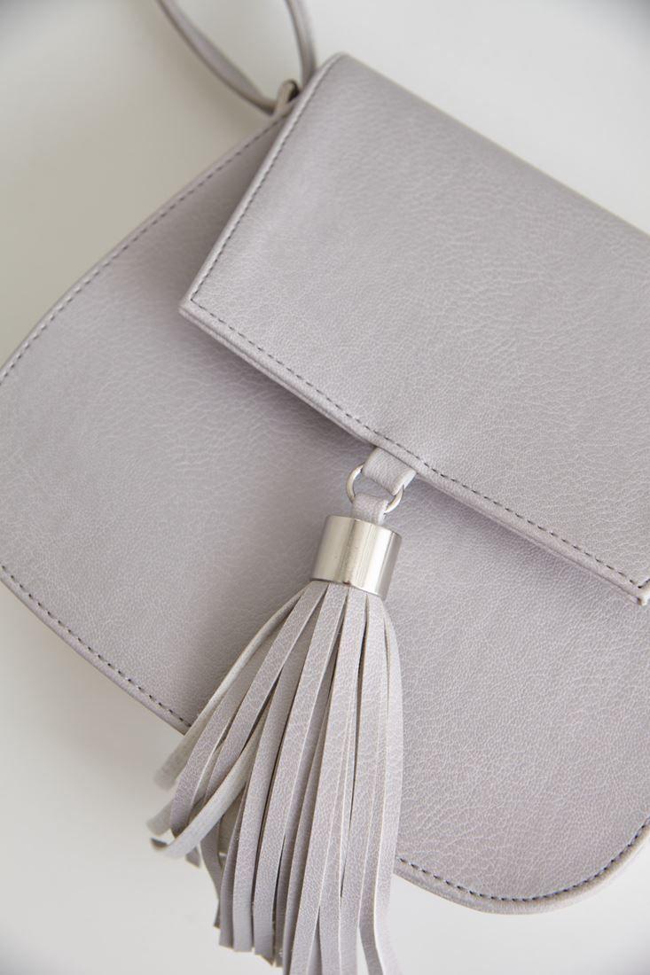 Püsküllü Mini Çanta