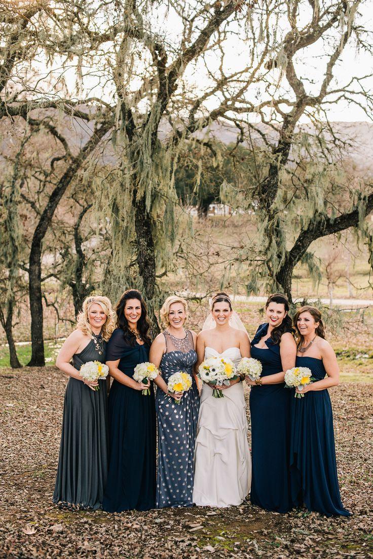 Best 25 mismatched navy bridesmaids ideas on pinterest navy mismatched bridesmaids are lovely photography ken kienow kenkienow read ombrellifo Images