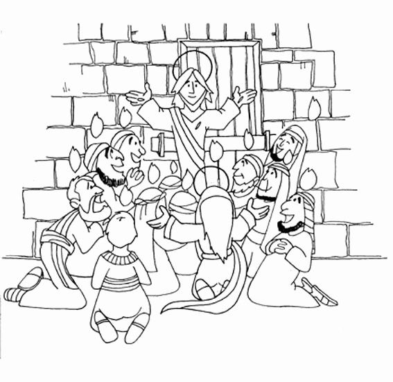 28 Doubting Thomas Coloring Page Bible Story Crafts Coloring Pages