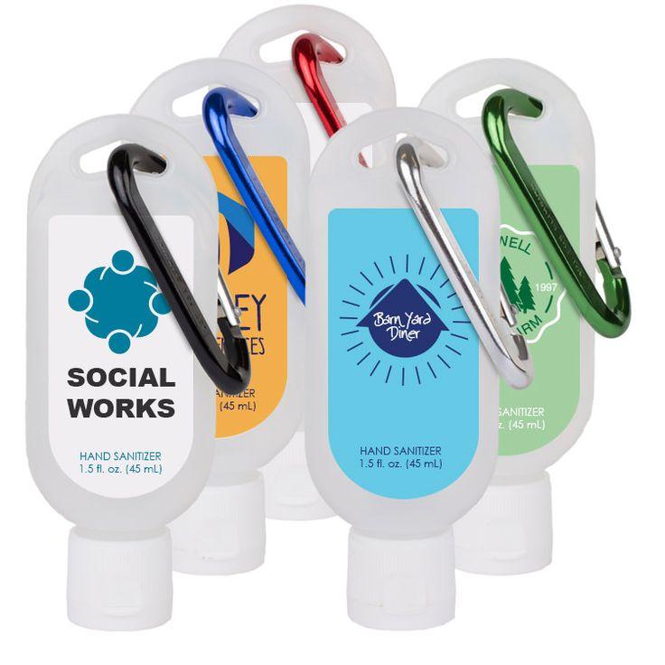 1 5 Oz Tottle Bottle Unscented Hand Sanitizer Full Color