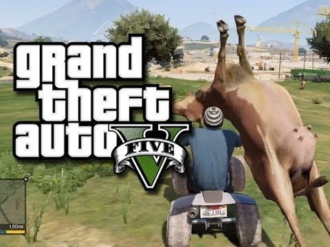 GTA 5 Funny and Random Gameplay Moments! - Jump Spots, Cheats, and Fails...   https://www.facebook.com/Gta5onlinefunnymoments