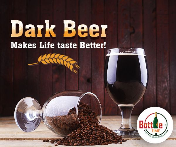 Darker the Beer, better it is! To order gorgeous dark #Beer, ☎️Call ► 403-918-3030  www.bottletime.ca