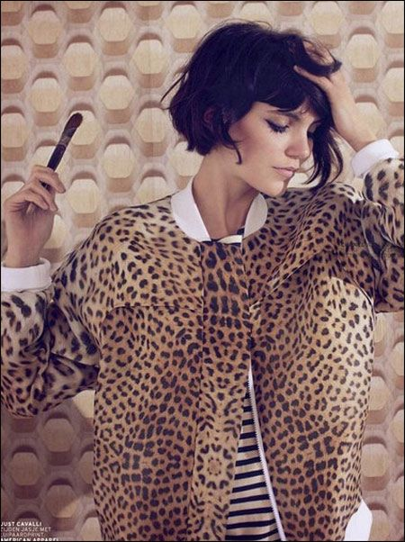 curly bob-  tried this with my hair and it never worked still growing it out- pinterest tugs at my impulsive side