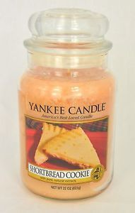 Bougie Grande Jarre Yankee Candle Shortbread Cookie Large JAR Exclu US | eBay