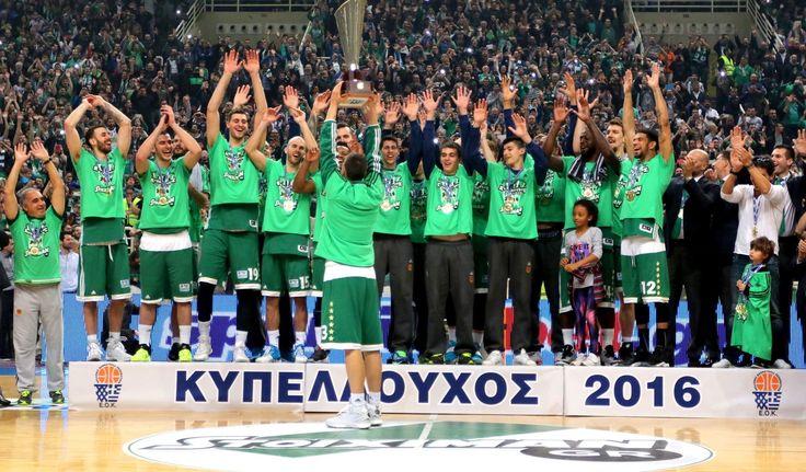 Με 100άρα, ο Παναθηναϊκός ήταν ο νικητής στον τελικό του Κυπέλλου Ελλάδας κόντρα στον Φάρο, πανηγυρίζοντας έναν ακόμη τίτλο.