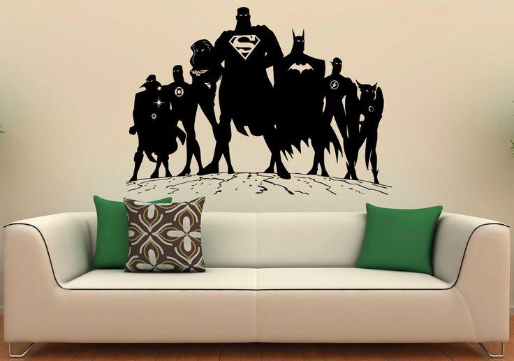 Best 10 superman stickers ideas on pinterest superman clipart superman party theme and - Superman interior designs ...