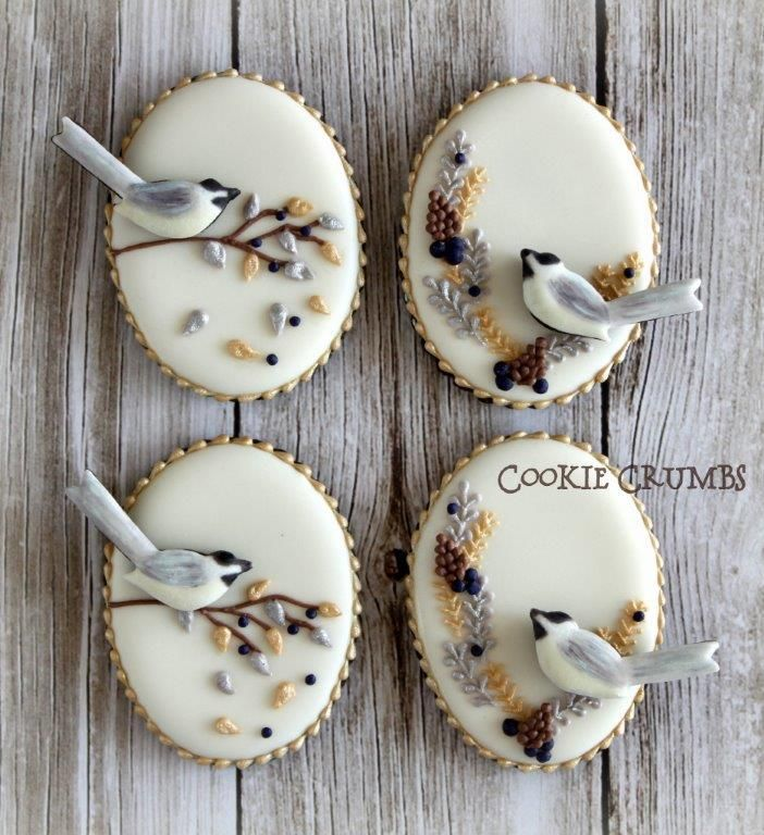 chickadee cookies   Cookie Connection
