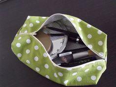 tutorial pochette astuccio porta trucco cosmetics pouch fai da te diy 66
