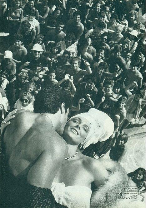 Sylvester Stallone & Brigitte Nielsen, Vanity Fair 1985