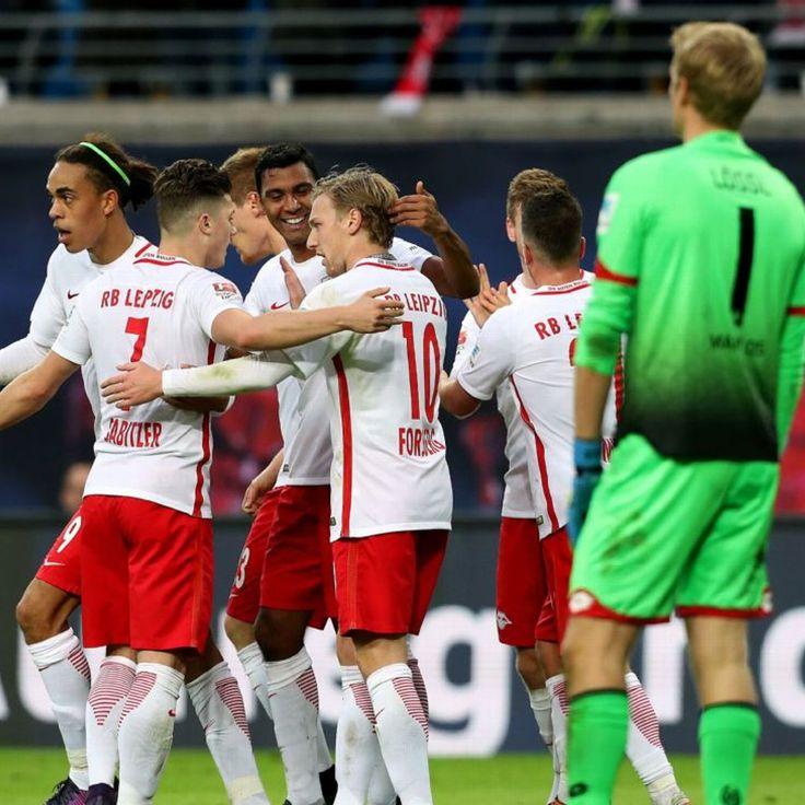 RB Leipzig join Bayern Munich at Bundesliga summit after beating Mainz