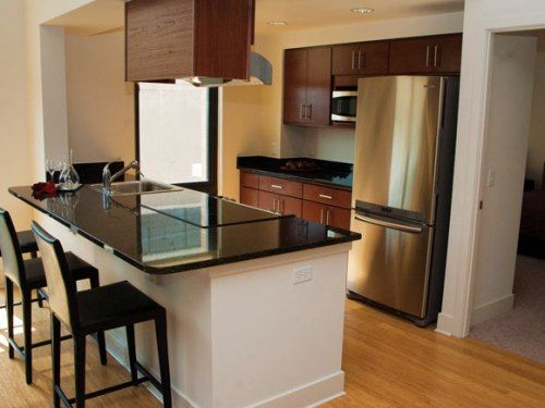 Small Best L Shaped Kitchen With Island
