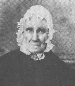 """Sarah Bush Lincoln, second wife of Thomas Lincoln, and stepmother of Abraham, was a real mother to the young boy during the hard years in Indiana and on throughout his life.  Each had genuine love and respect for the other.  One of the last things Lincoln did before leaving Illinois for the White House to take up responsibilities that lay ahead of him was to visit """"mother,"""" as he always called her."""
