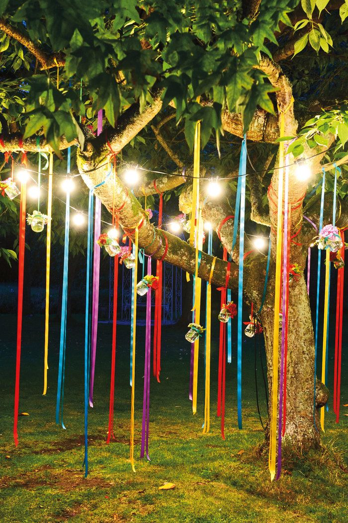 Картинки по запросу как украсить день рождения на природе
