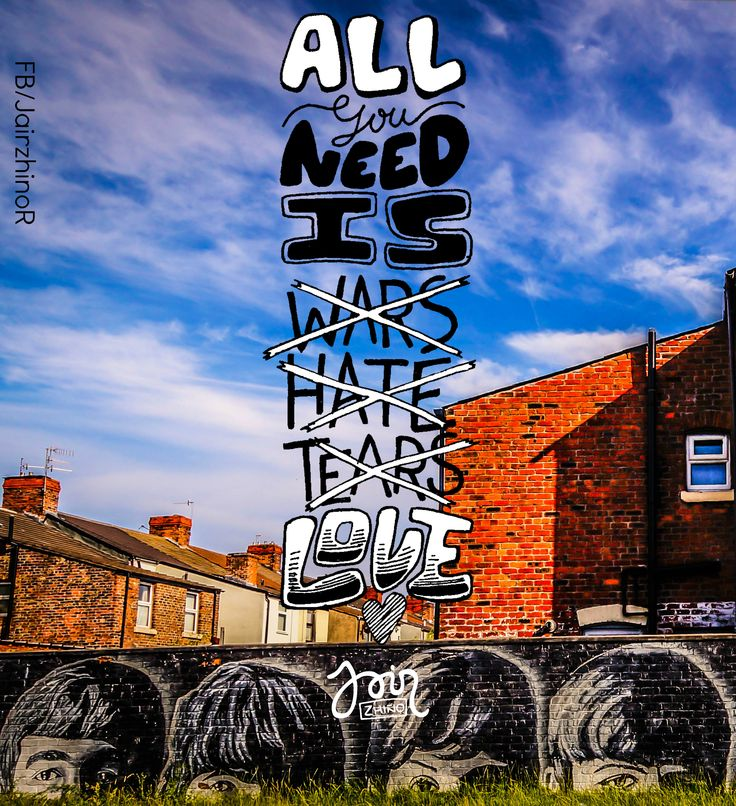 All need is LOVE.... on.fb.me/1hEsE1c