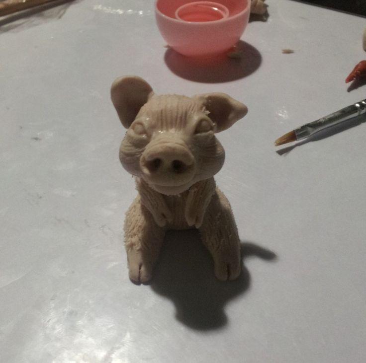 The Fairy Circle - My ooak : Mr. Pig