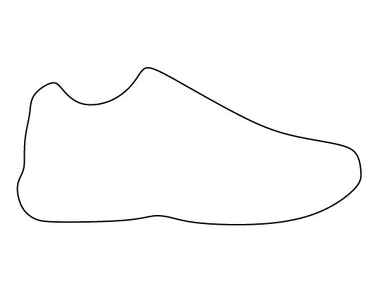 Satisfactory image for shoe template printable