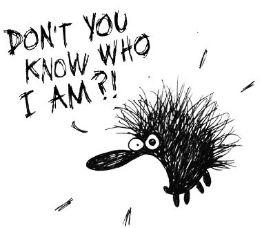 Kiroileva siili, or the swearing hedgehog is  a comic strip written and drawn by Finnish artist Milla Paloniemi from Vantaa. The strip stars a hedgehog, who is aggressive and prone to profanity, and the last panel of the strip is usually abundant with swearwords.  The strip received attention when it was featured in the Ilta-Sanomat newspaper in January 2007, which caused the self-published album Kiroileva siili to rise as the top-selling comic album of the Academic Bookstore.