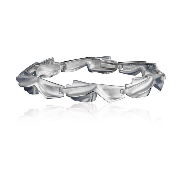 HESPERA  Design Zoltan Popovits / Silver Bracelet / Lapponia Jewelry / Handmade in Helsinki
