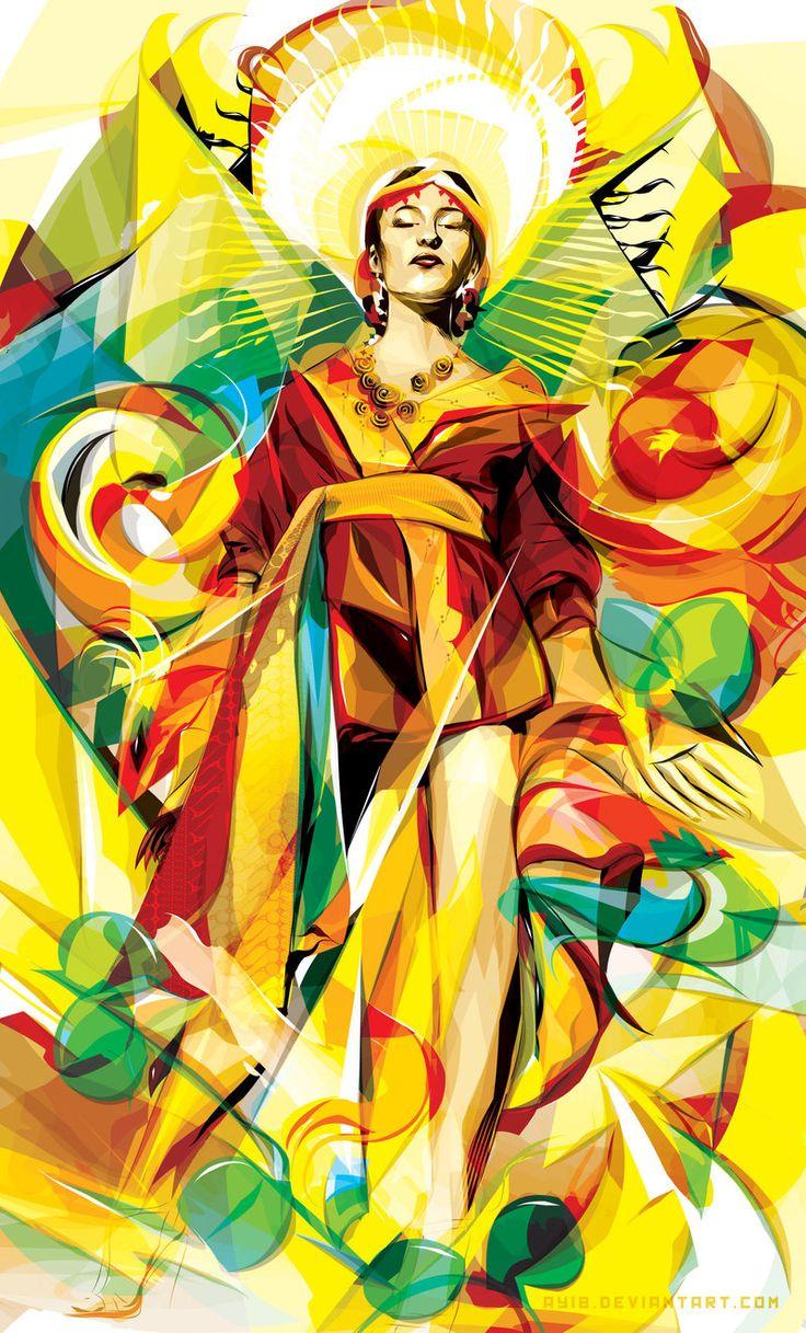 """""""golden princess"""" 2010 by ~AYIB on http://ayib.daportfolio.com/"""