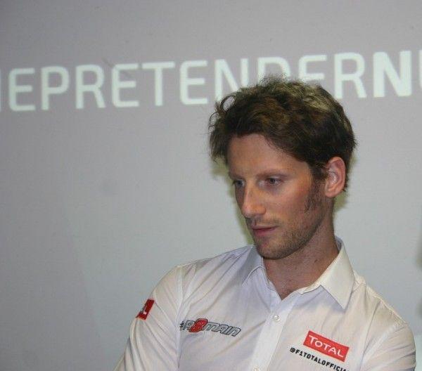 Formule 1, fin de série noire pour Romain Grosjean (Lotus)