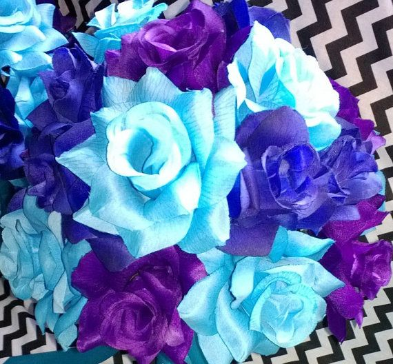 Royal Blue And Purple Wedding Theme Purple And Turquoise Wedding