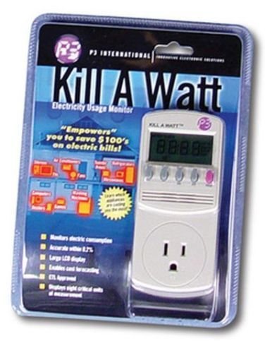 P3 P4400 Kill A Watt Electricity Usage Monitor Your Electric Usage #P3
