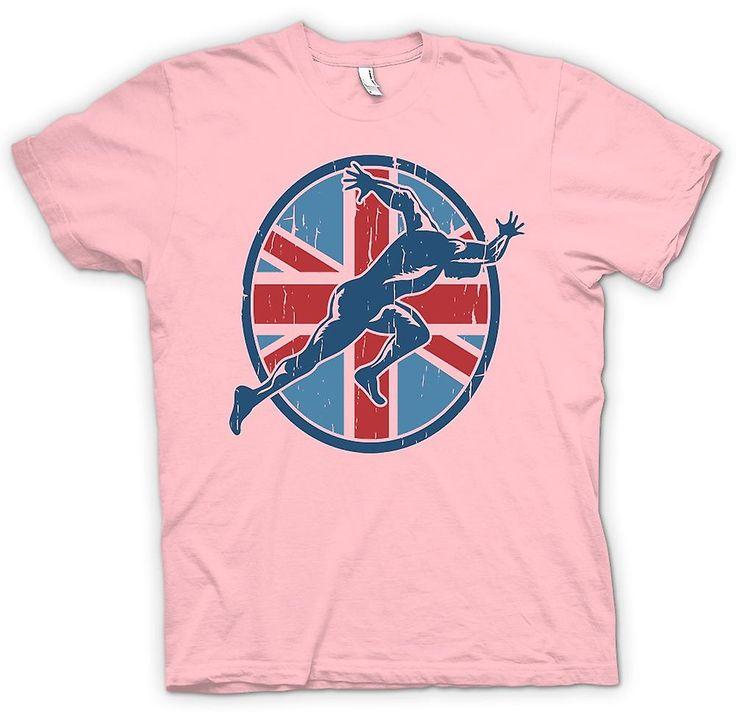 Womens T-shirt - Team GB - Running - Sprint