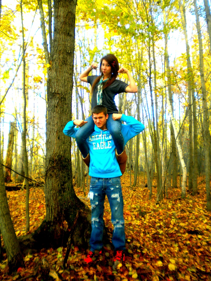 Our relationship is strong <3  #couple #pictures