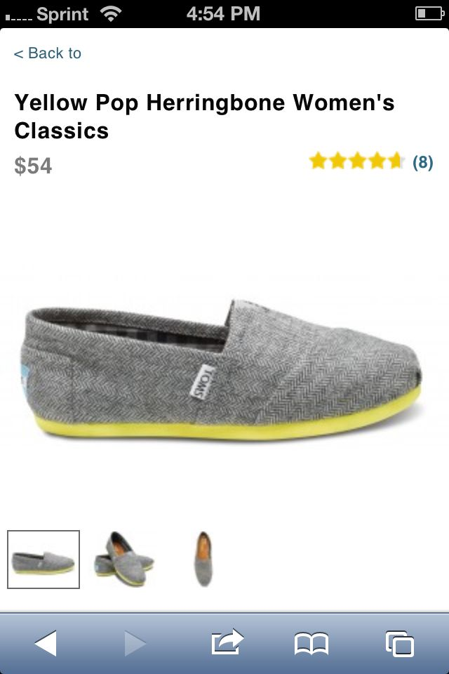 Toms gray and yellow   A to Z fashion!   Pinterest   Toms, Gray and Fashion