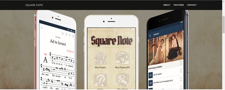 A reader has written in let us know about a new Gregorian chant app for mobile devices called Square Note , published by the Oblates of St ...
