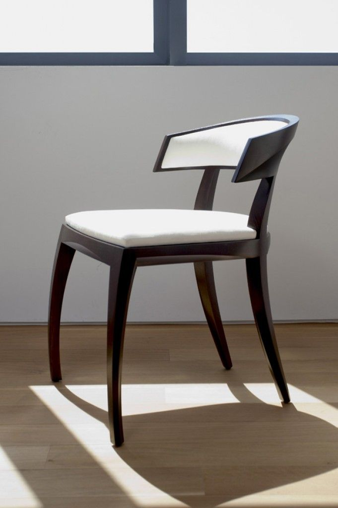 Avery Chair by Hellman Chang. This chair is absolutely gorgeous.