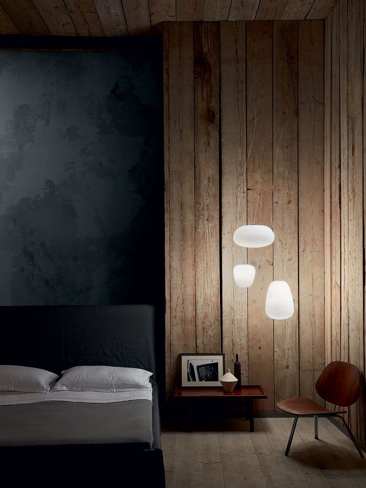 + #bedroom | Photo by Kasia Gatkowska. Light Portraits by Foscarini.
