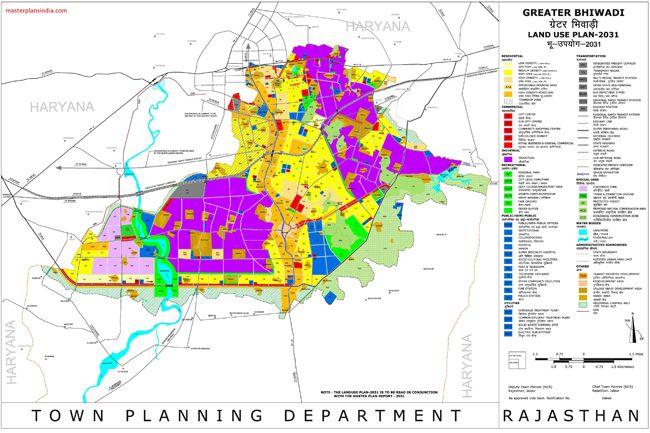 Bhiwadi Master Plan 2031 Map