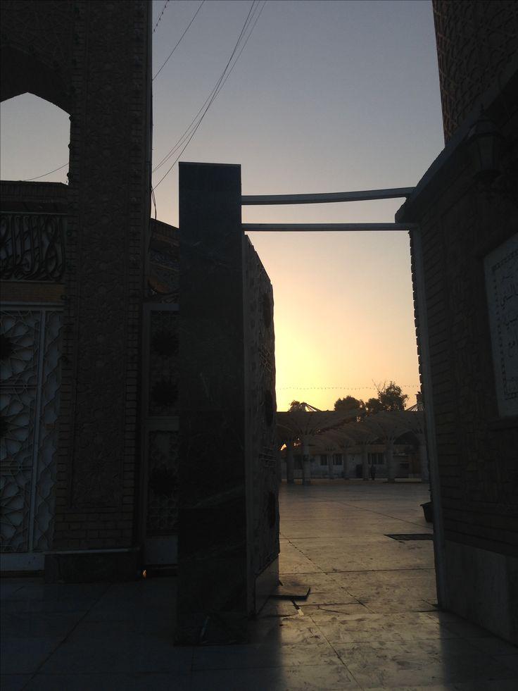 Sunset in Adamiyah