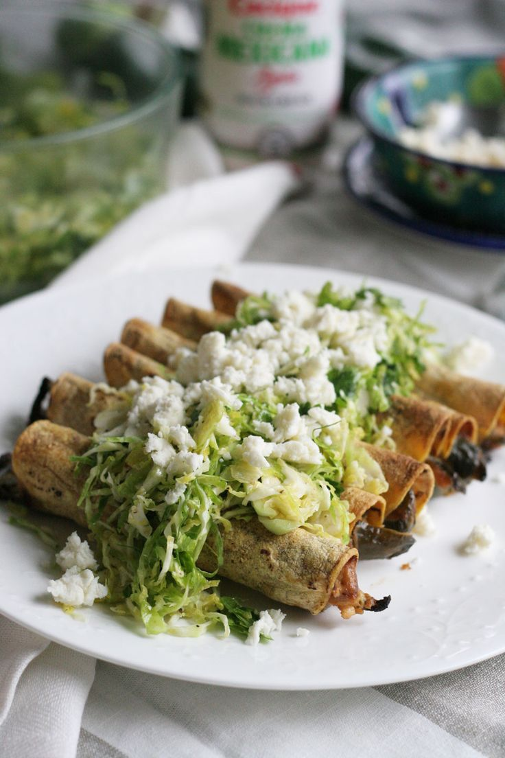 Queso Panela and Poblano Taquitos are a sure way to impress the family with little effort. Cacique cheese is a great way to add flavor to a taquito recipe!