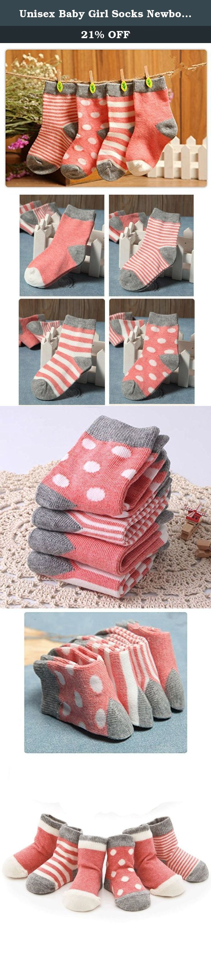 Unisex Baby Girl Socks Newborn 4 Pack Little Luxuries Design Socks by Ola Kids. Unisex Baby Socks Newborn 4 Pack Little Luxuries Design Socks by Ola Kids Packing: A group of 4 pairs into a matte bag Size: XS 0-6 months (US Size:0-6cm, Length: 9cm, Suggest age:0-6 months), S 6-12 months (US Size:7-12m, Length:11cm,Suggest age:6-12 months), M 1-2 years old (US Size:13-24m, Length:12.5cm, Suggest age:12-24 months) .