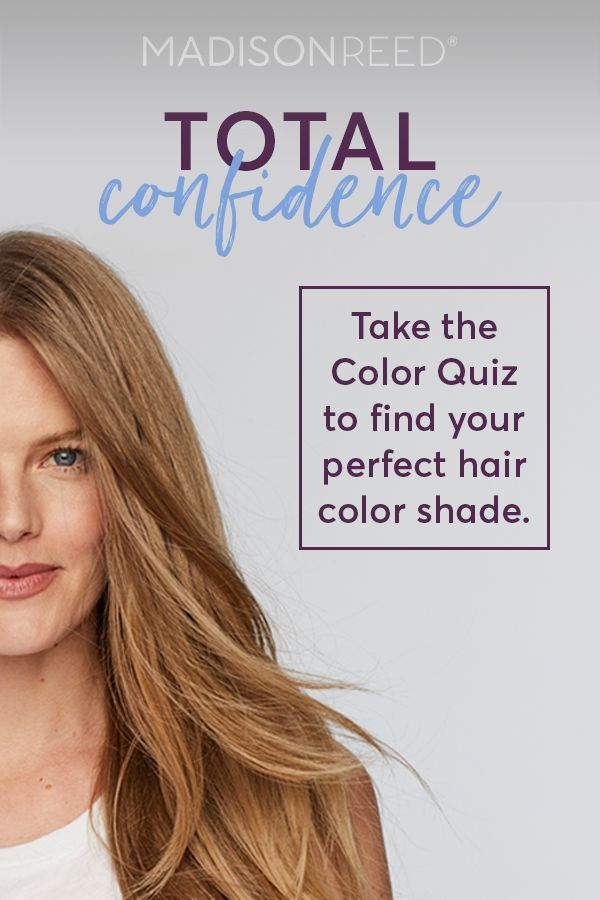 Find Out Your Perfect Hair Color Shade Just By Answering A Few Questions About Your Hair Texture Color Perfect Hair Color At Home Hair Color Spring Hair Color