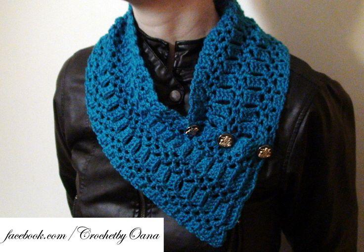 Mejores 8 imágenes de Crochet by Oana! en Pinterest   Patrones ...
