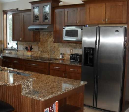 kitchen cabinets lansing mi 71 best images about kitchens medium brown on 6181