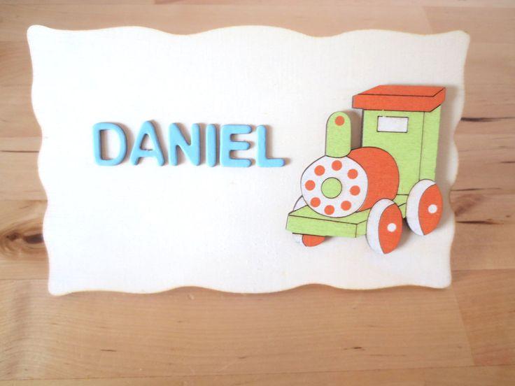 Awesome Childrenu0027s Bedroom Plaque   Train Personalised Door Sign   Kids Door Sign    Kids Personalised Plaque