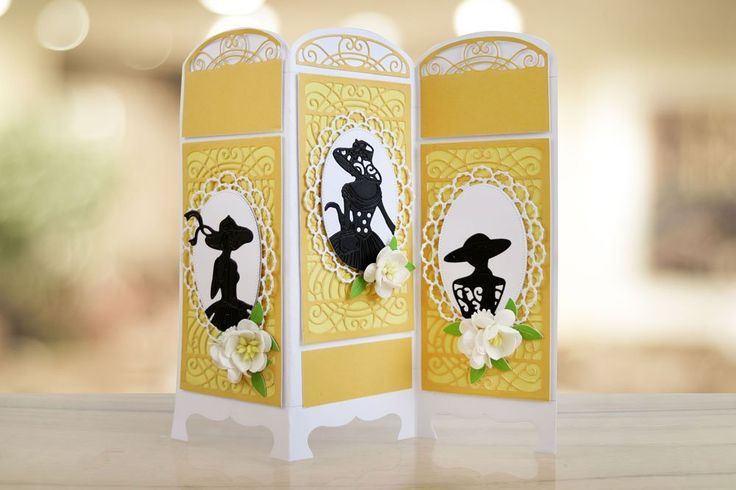 Tattered Lace SCREEN CARD Craft Cutting Die Set - ETL462: Amazon.co.uk: Kitchen & Home