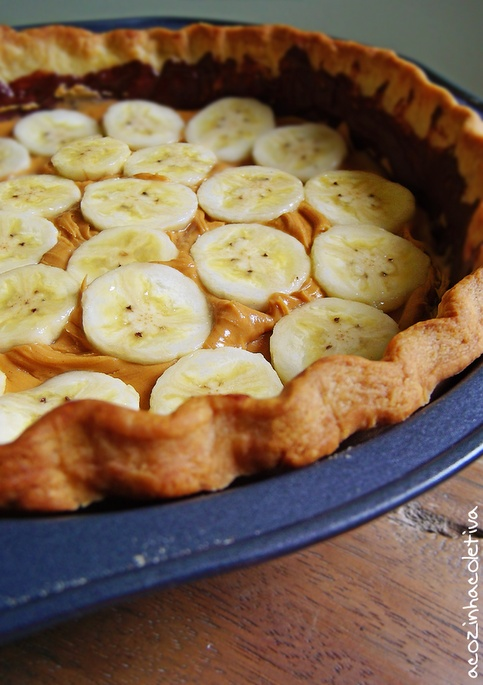 Banana Peanut Butter Cream Pie...