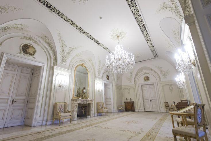 Salonul Florilor. Muzeul Cotroceni (Octav Ganea)