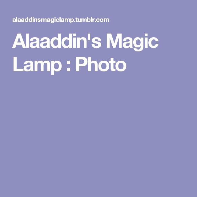 Alaaddin's Magic Lamp : Photo