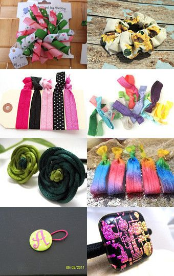 The Show Ponytail Holder Ideas by Etsy Shop-Secrets on Etsy--Pinned with TreasuryPin.com