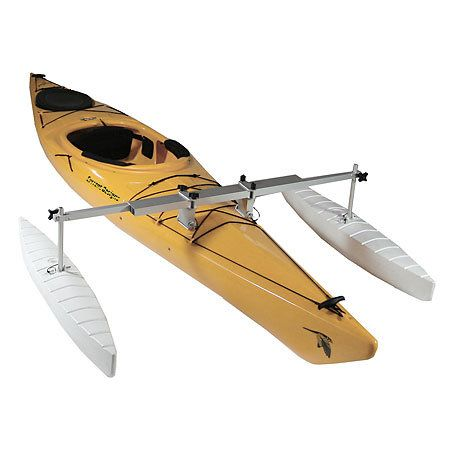 gander mountain wave armor kayak canoe stabilizer kit