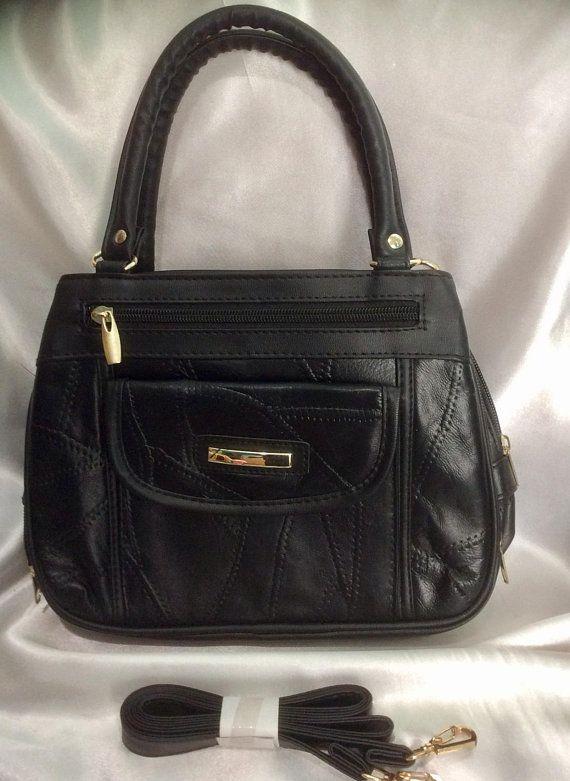 shoulder years worn black France lambskin small Vintage 70 bag 5YwxfWSxq6