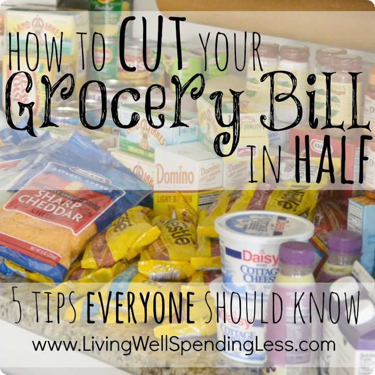Spend less on food!