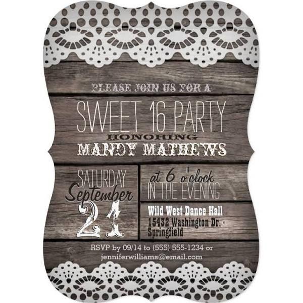 best 25+ sweet 16 invitations ideas on pinterest | sweet sixteen, Party invitations